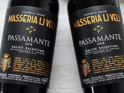 Li Veli - Negroamaro 2018 Passamante