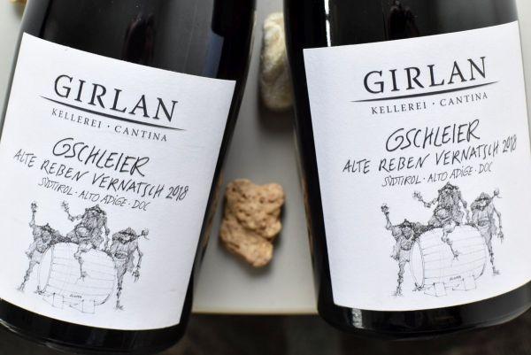Kellerei Girlan - Vernatsch 2018 Gschleier Alte Reben