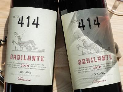 Podere 414 - Sangiovese Toscana 2018 Badilante Bio