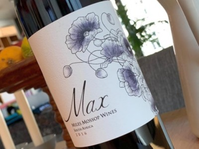 Miles Mossop - Dry Red Wine 2016 Max