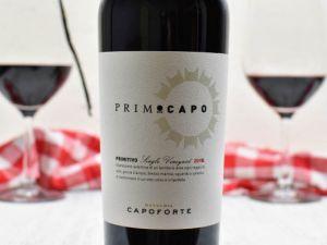Capoforte - Primitivo 2016 Primocapo