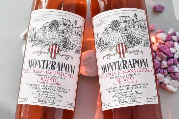 Monteraponi - Rosato Toscana Centrale 2019 Bio