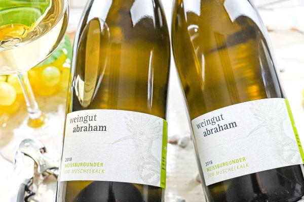 Weingut Abraham - Weißburgunder 2018 Muschelkalk