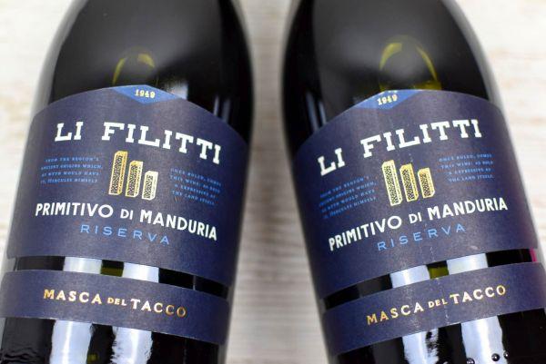Masca del Tacco - Primitivo di Manduria Riserva 2017 Li Filitti