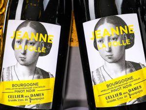 Cellier des Dames - Bourgogne Pinot Noir 2018 Jeanne la Folle