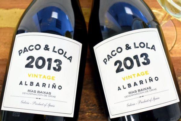 Paco & Lola - Albariño Vintage 2013