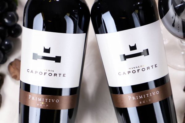 Capoforte - Primitivo Salento 2017