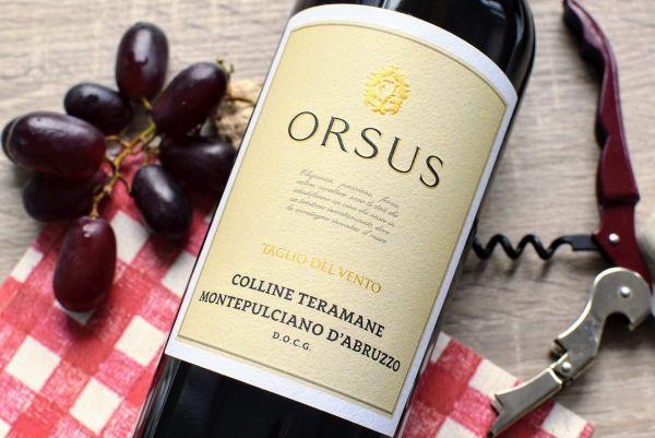 Fosso Corno - Montepulciano d'Abruzzo 2017 Orsus