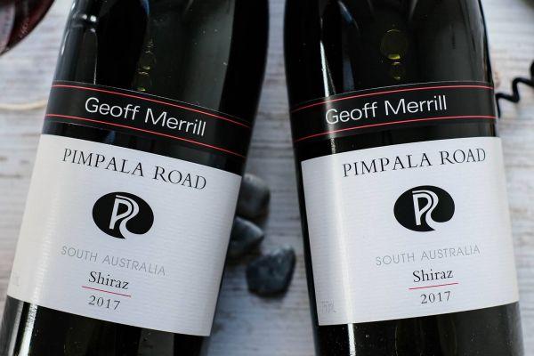Geoff Merrill - Shiraz 2017 Pimpala Road