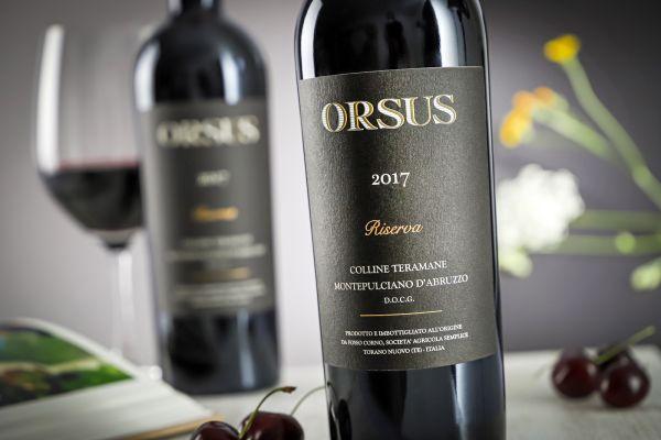 Fosso Corno - Montepulciano d'Abruzzo Riserva 2017 Orsus