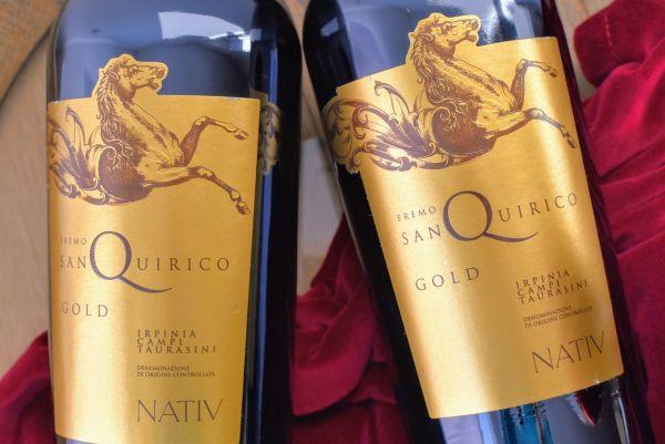 Nativ - Aglianico 2016 Eremo San Quirico Gold Edition