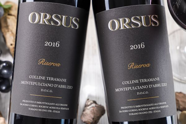 Fosso Corno - Montepulciano Riserva 2016 Orsus