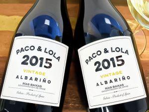 Bodega Paco & Lola - Albariño Vintage 2015