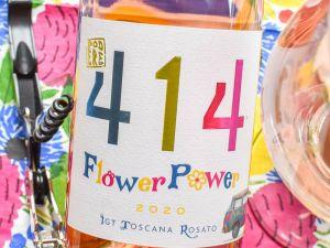 Podere 414 - Toscana Rosato 2020 Flower Power Bio