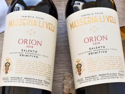 Li Veli - Primitivo 2019 Orion