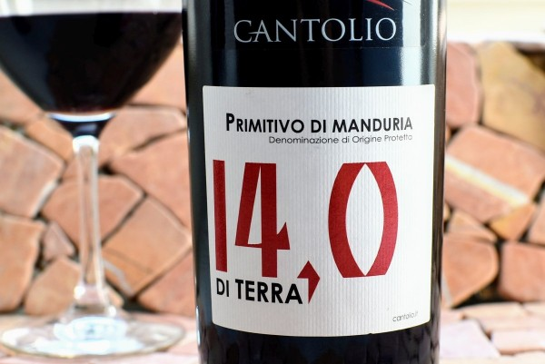 Cantolio - Primitivo di Manduria 2018 di Terra 14,0