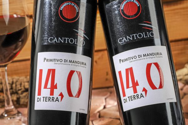Cantolio - Primitivo di Manduria 2019 di Terra 14,0