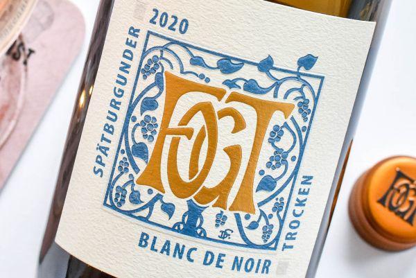 Georg Fogt - Spätburgunder Blanc de Noir 2020
